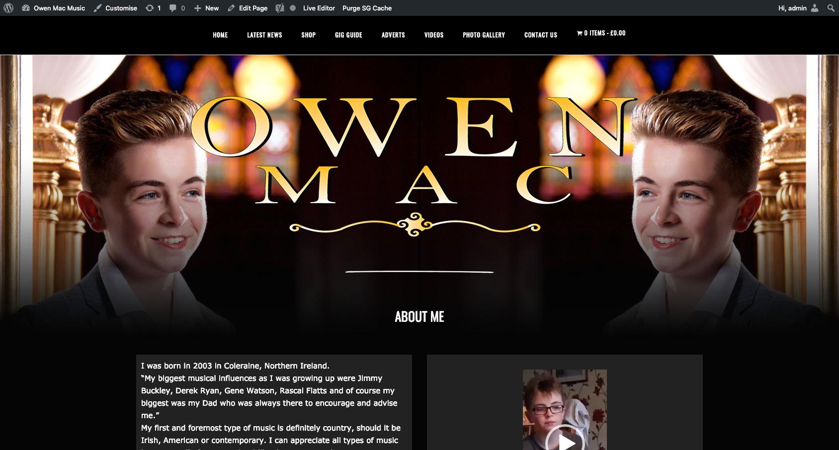 owen mac music